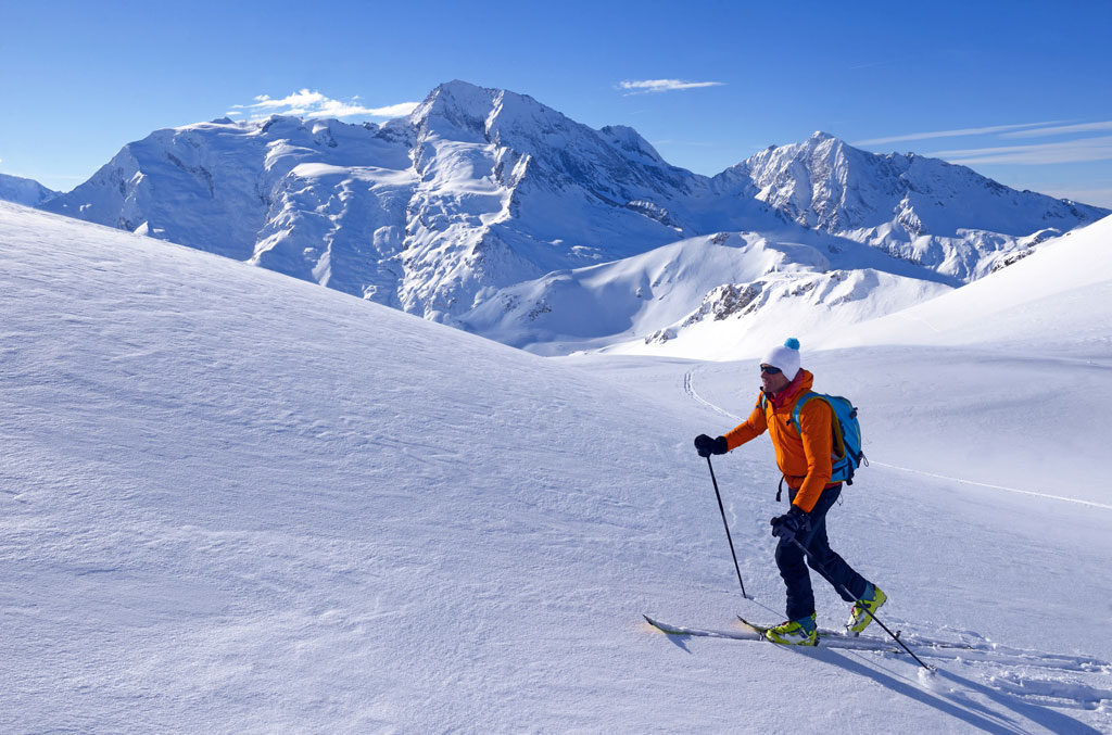 Ski de randonnée à Sainte Foy Tarentaise