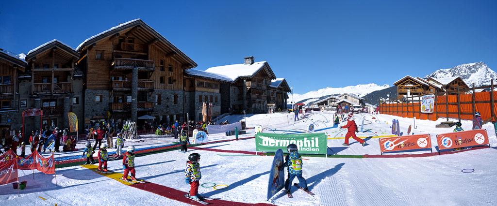 ESF - Ski enfants à Sainte Foy Tarentaise