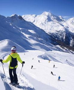 Samedi je skie à Sainte Foy Tarentaise