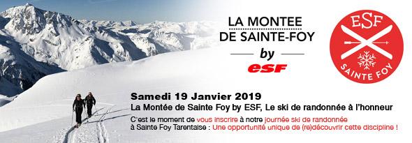 Montée Sainte Foy by ESF FR