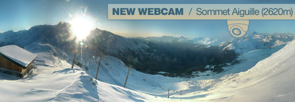 Webcams Sainte Foy Tarentaise
